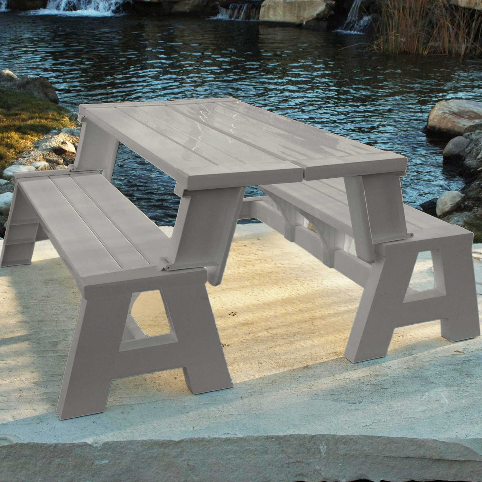 and ideas table tiles hardwood separate garden wooden diy with bench for set benches picnic solid patio floor folding