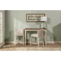 Hillsdale Furniture Clarion Three (3) Piece Counter Height Side Dining Set with Wing Arm Stools