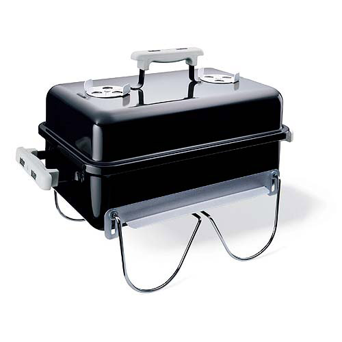 Weber 160 sq. inch Charcoal Go-Anywhere Grill, Black