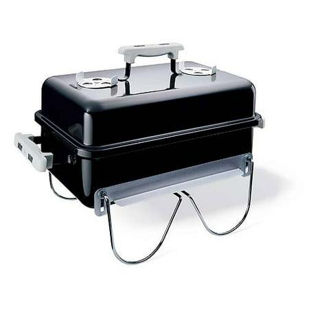 Weber 160 Sq  Inch Charcoal Go Anywhere Grill  Black