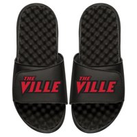 Louisville Cardinals ISlide Slide Sandals - Black