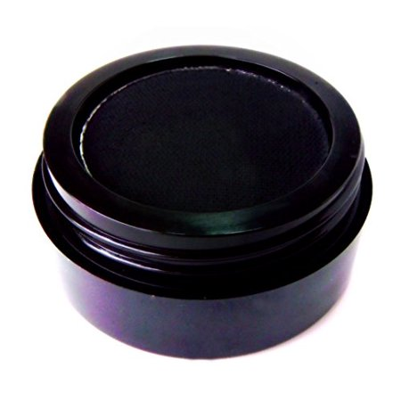 Matte Black Wet Dry Pressed Powder by Pure Ziva Long Lasting Very Smooth &