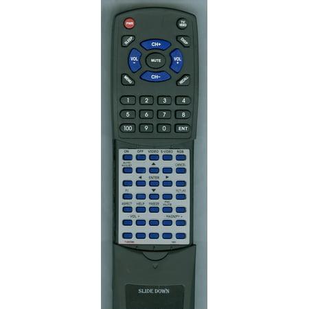 Replacement Remote for NEC 7N900382, RT7N900382, RD394E, VT660, VT465, VT460, VT660K, RMTPJ06, VT560