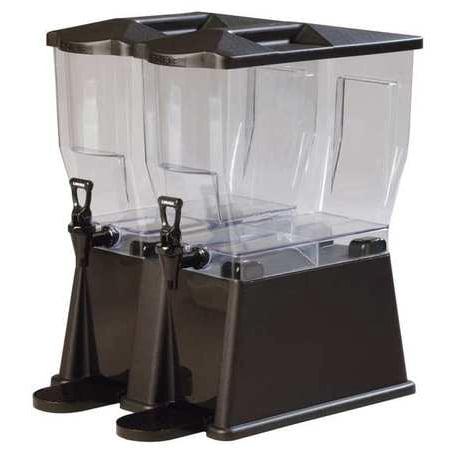 Carlisle 1085103 Double Beverage Dispenser, 6 Gal