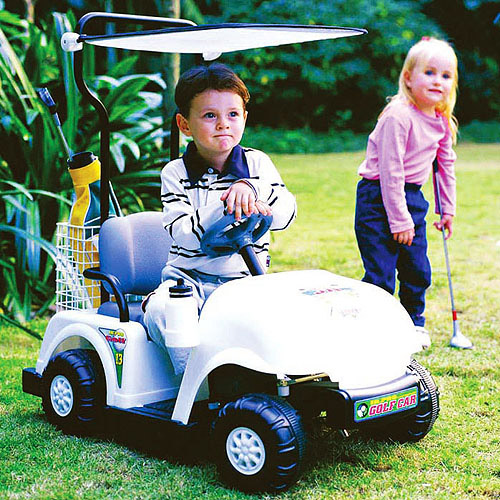 Kid Motorz NPL Golf Cart 6-Volt Battery-Powered Ride-On