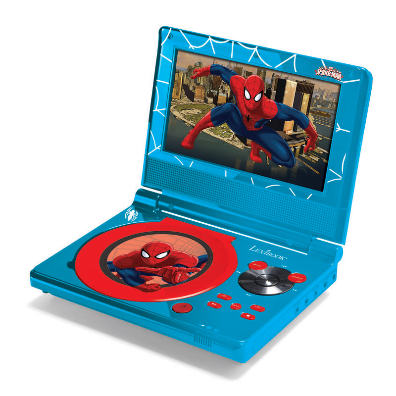 Spider-Man Portable DVD Player - DVDP5SP