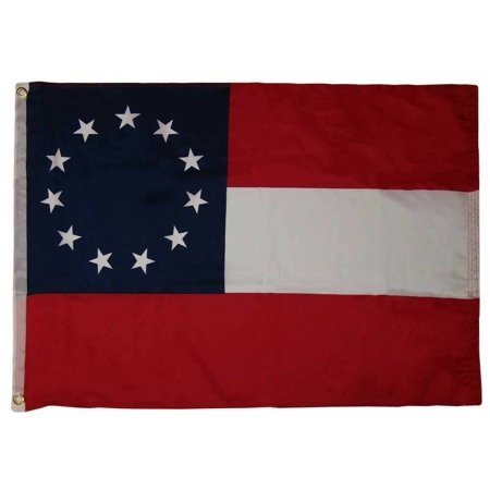 2x3 1st National 11 Stars 100D Woven Poly Nylon Flag 2'x3' Banner