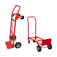 Milwaukee 600 lb. Capacity 2-in-1 Convertible Hand Truck