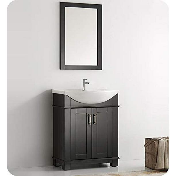 Hartford 30 Black Traditional Bathroom Vanity Walmart Com Walmart Com