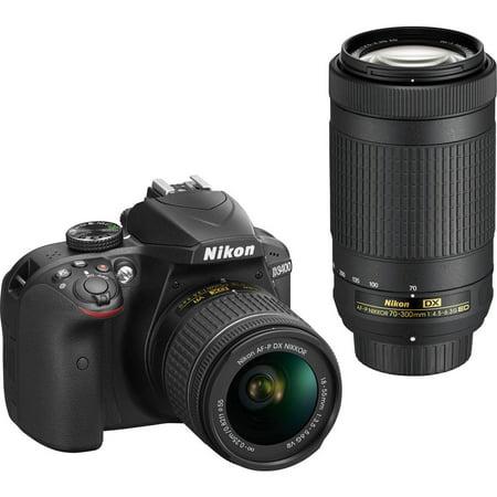 Nikon D3400 Digital SLR Camera with 24.2 Megapixels and 18-55mm ...