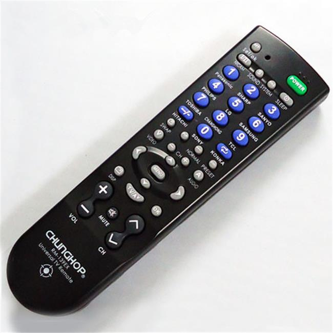 Ankaka A21126 HD 1080P 30fps TV Universal Remote Control with Hidden Camera 8 GB Internal Memory