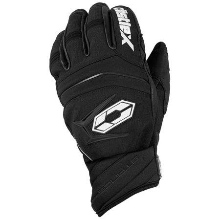 Castle X Racewear Stance Mens Snowmobile Gloves Black