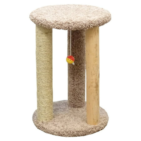 New Cat Condos Round Multi Cat Scratcher