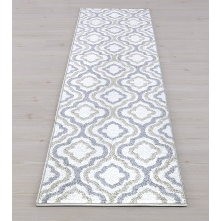 Charlotte Collection Crystal Ivory 7'10