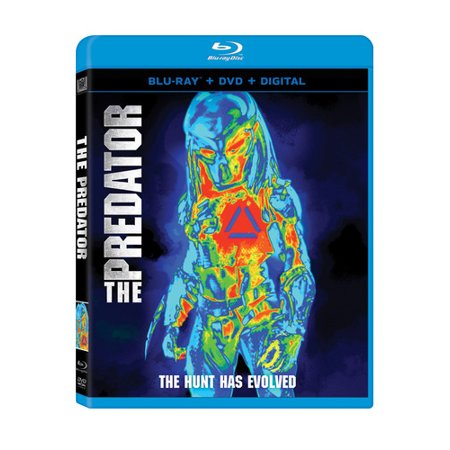 The Predator (2018) (Blu-ray + DVD + Digital Copy) (Rb2027 Predator 2)