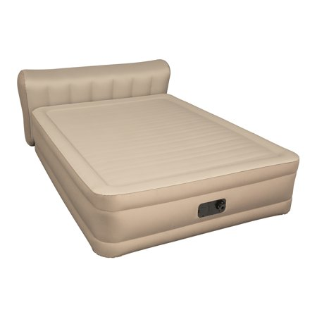 Bestway - Fortech Airbed 31 Inch with Built-in AC Pump, (Best Way To Go To Bed With Wet Hair)