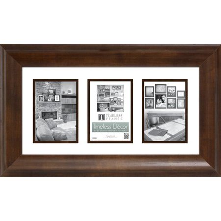Timeless Frames Elise Matted 3 Opening Collage Picture Frame ...