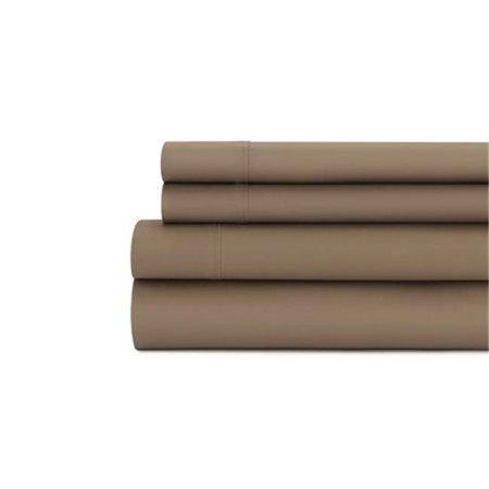 Baltic Linen 0367887160 400 Thread Count  Easy Care Sateen Pillow Set  Natural  - -