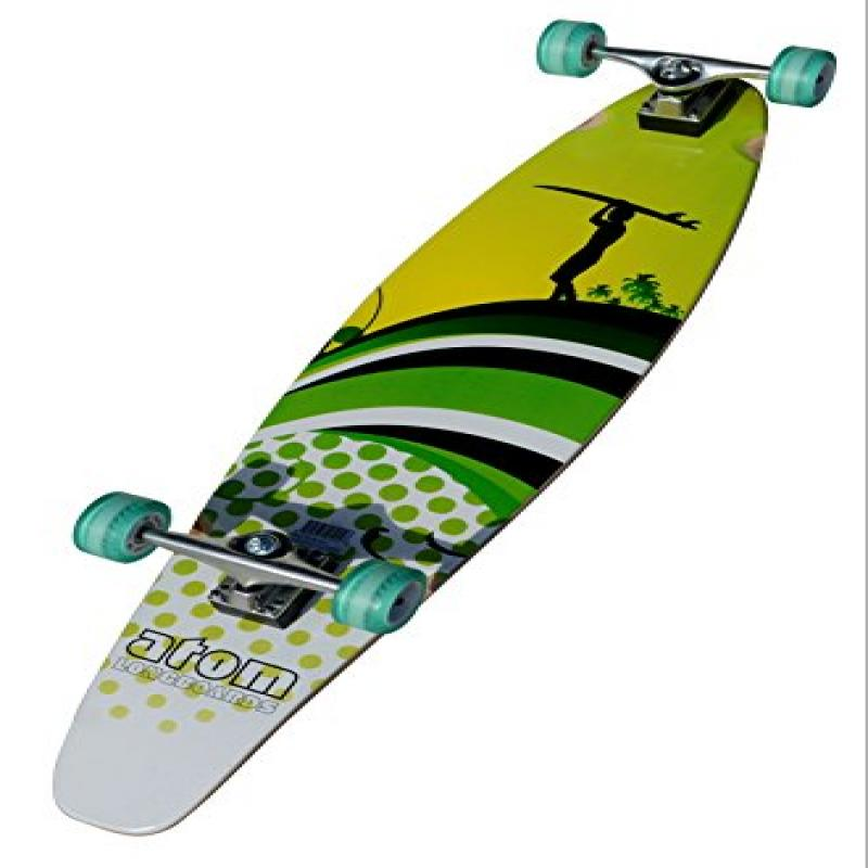 Atom Kick-Tail Longboard 39 Inch by Atom