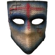 Adult's Scarecrow Medico Blue Party Festival Tie Mask Costume Accessory