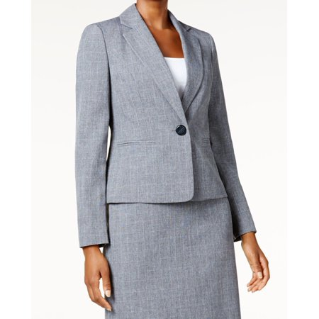 Le Suit NEW Gray Women