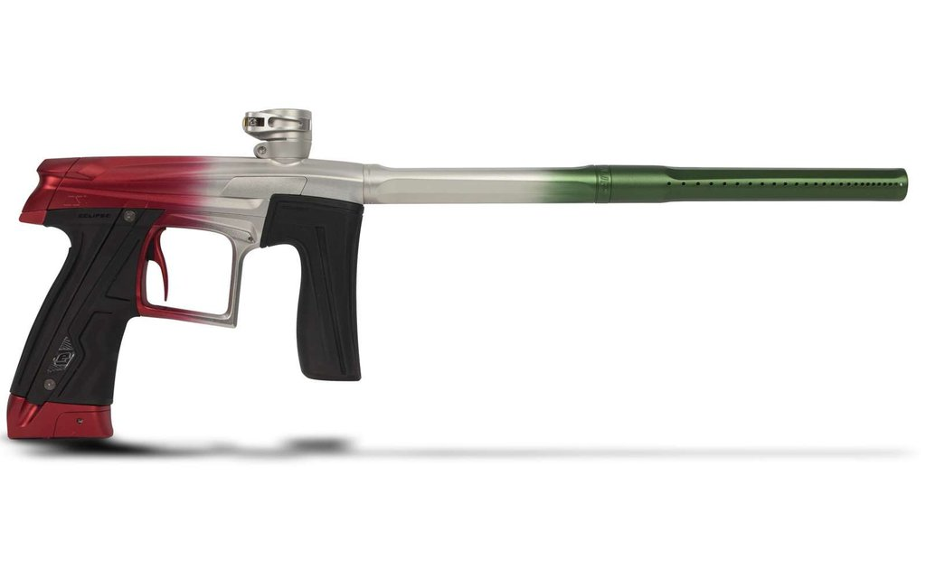 Planet Eclipse GEO CS1 Paintball Marker 1 of 1 Fade Red   Silver   Green by Planet Eclipse