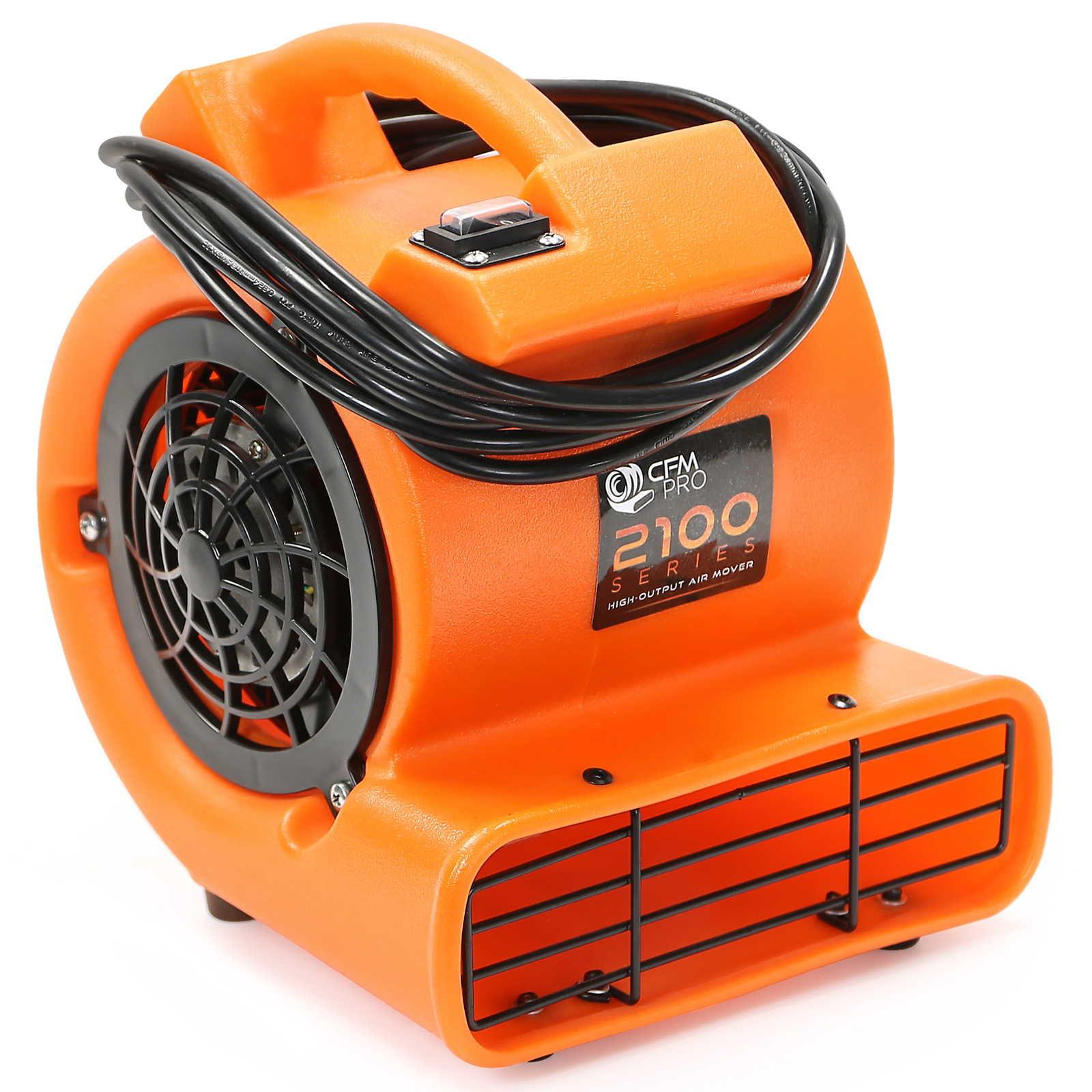 CFM PRO Air Mover & Carpet Dryer Blower Fan - 2,100 Series