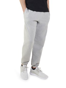 Fruit of the Loom Men's and Big Men's Eversoft Fleece Elastic Bottom Sweatpants, up to Size 4XL