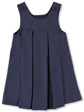 Cookie's Girls' Button-Shoulder Pleated Jumper (Big Girls)