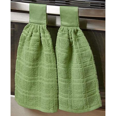 2 Hanging Kitchen Towels (Set of 2 Hanging Kitchen Towels)