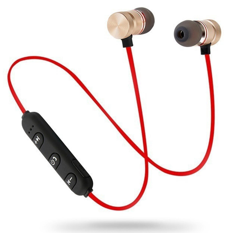 Bluetooth In-ear Headphone Wireless Sport Stereo Earphone Earbud NEW DEAML