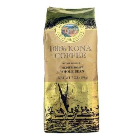 Royal Kona 100% Kona Medium Roast Whole Bean Coffee - 7oz