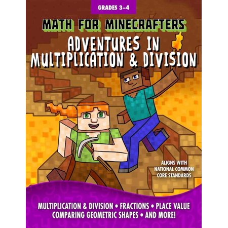 Math for Minecrafters: Adventures in Multiplication & Division - Halloween Math Multiplication Games