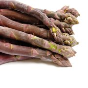 Purle Passion 10 Live asparagus bare root plants -2yr-crowns