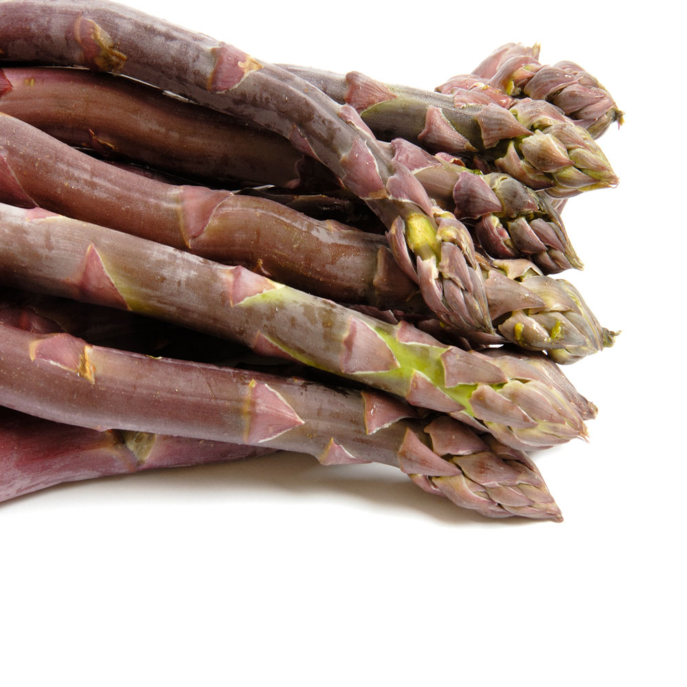 Purle Passion 100 Live asparagus bare root plants -2yr-cr...