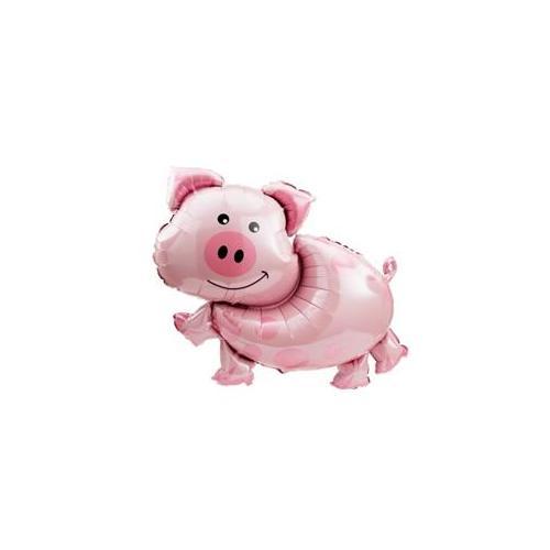 "Pig Mylar Balloon - 35"""