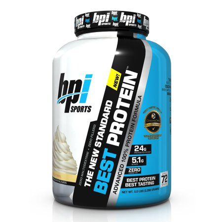 BPI Sports Best Protein Protein Vanilla Swirl, 72 Servings