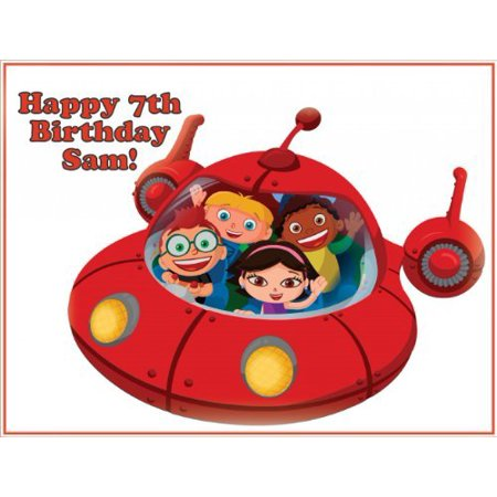 Single Source Party Supplies Little Einsteins Cake Edible Icing