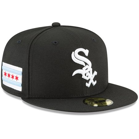 more photos 579c7 1f29e Chicago White Sox New Era Team Local 59FIFTY Fitted Hat - Black -  Walmart.com