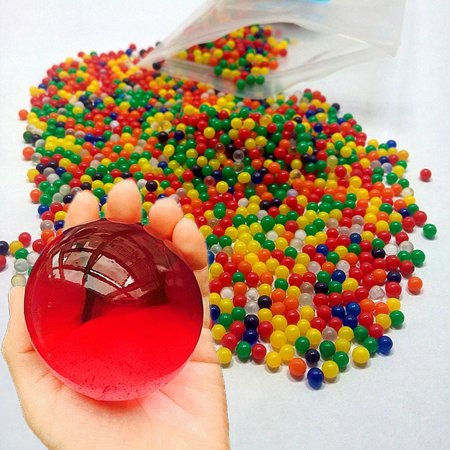 60X Bead Orbeez Replacement Packs Large Jumbo Kids Water Spa Refills Magic - Lager Refill