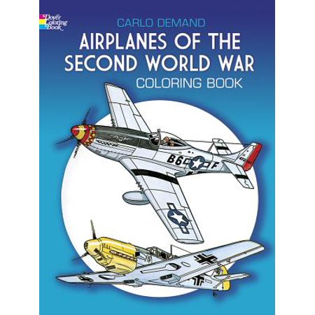 Airplane Magazine (Airplanes of the Second World War Coloring Book )