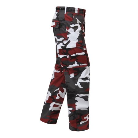 Ultra Force Red Camouflage B.D.U.