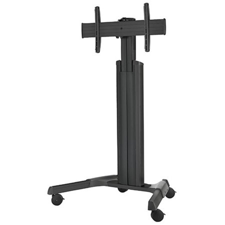 Chief Pac710 Height Adjustable Accessory - Chief Large Fusion LPAUB Manual Height Adjustable Mobile Cart for (Refurbished)