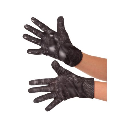 Child's Marvel Captain America Civil War Black Panther Gloves Costume Accessory - Child's Halloween Party