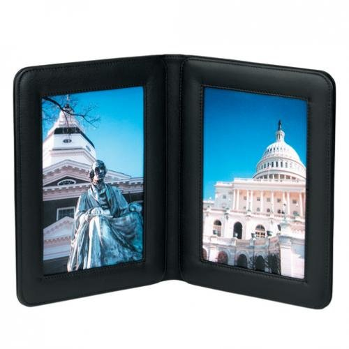 Royce Leather Double 4 X 6 Picture Holder