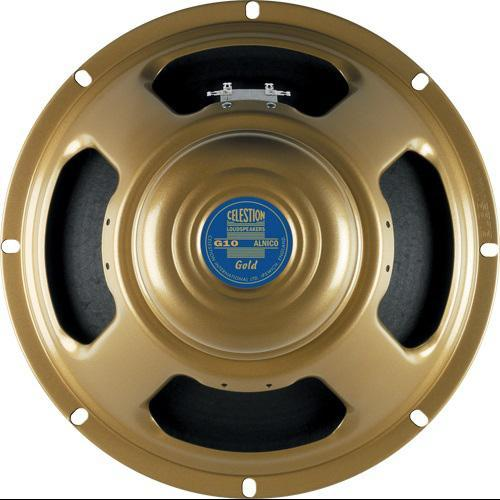"Celestion G10 Gold 10"" Guitar Speaker (15 Ohm, Used - Mint Condition)"