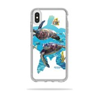 Skin For OtterBox Symmetry iPhone XS Max Case - Turtly Cool | MightySkins Protective, Durable, and Unique Vinyl Decal wrap cover | Easy To Apply, Remove, and Change Styles
