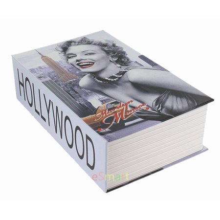 Secret Safe - Marilyn Hidden Book Safe Lock Secret Security Money Hollow Book Wall Safe