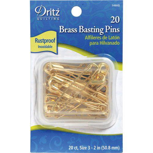 Dritz Quilter's Brass Safety Pins
