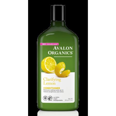 Avalon Organics Clarifying Lemon Conditioner, 11 Oz 11 Outlet Line Conditioner